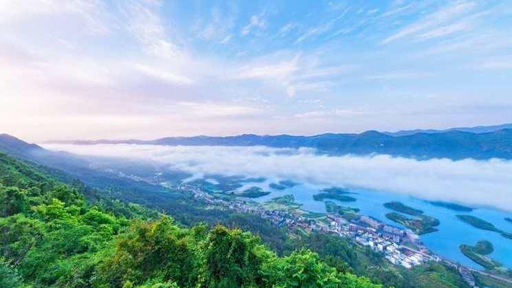 【黄石】黄石仙岛湖望仙崖+观音洞双汽一日游(A线)
